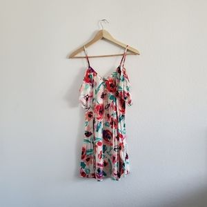 Mimi Chica Watercolor Flowers Dress